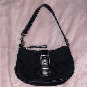 Vintage COACH mini bag with adjustable strap